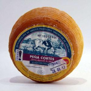 Queso ahumado de Aliva artesano de Cantabria Peña Cortés