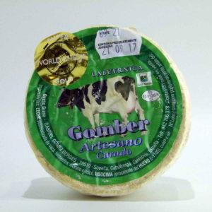 Queso Gomber de vaca curado artesano