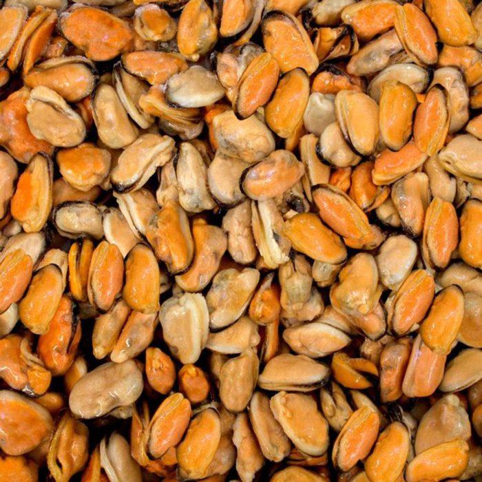 Mejillones sin concha
