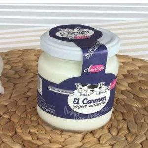 Yogurt natural desnatado El Carmen 200 grs