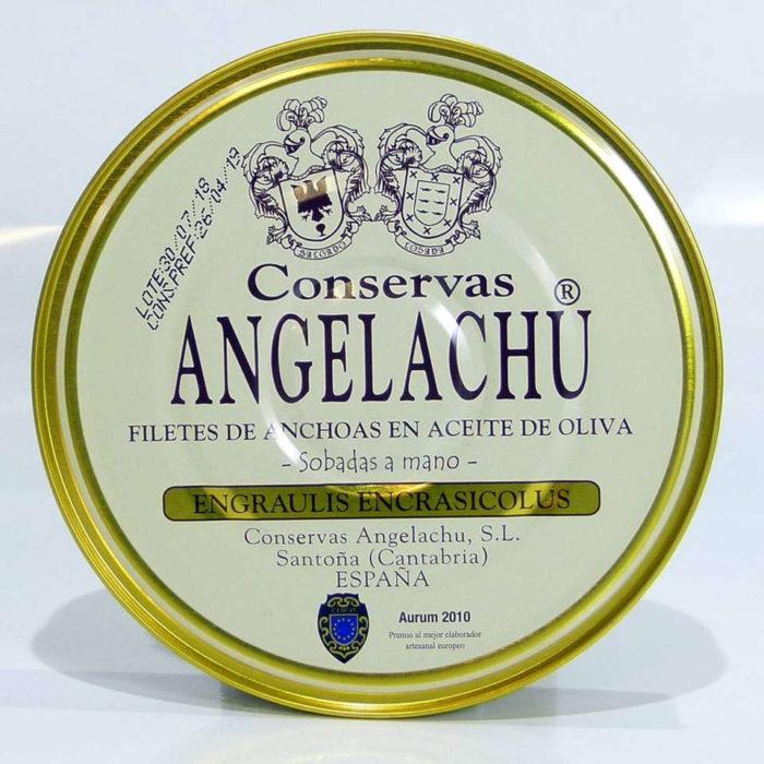 Pandereta de anchoas Angelachu