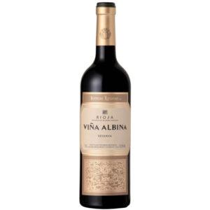 Vinto tinto Rioja Viña Albina Reserva