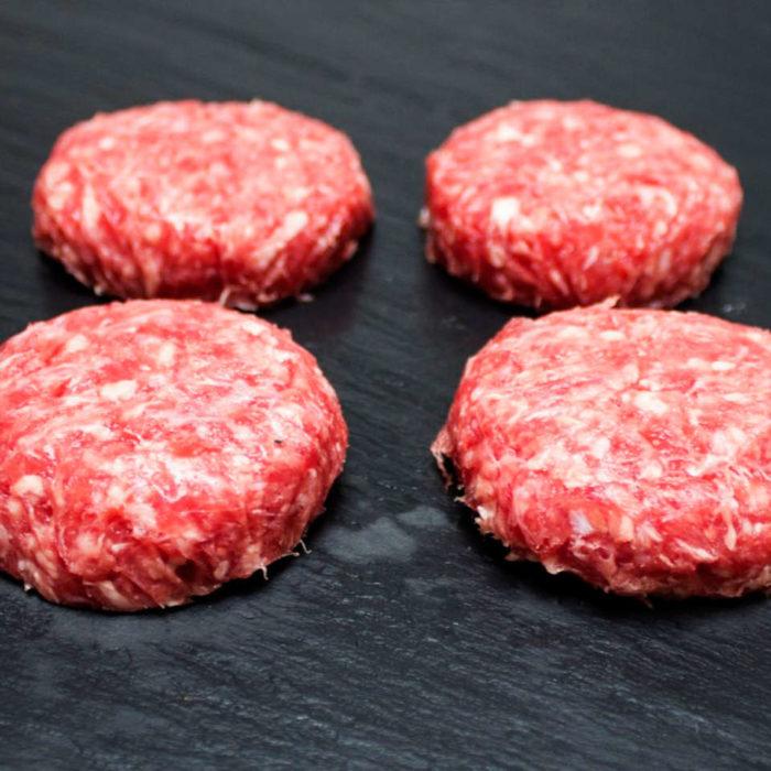 Bandeja de 12 mini hamburguesas