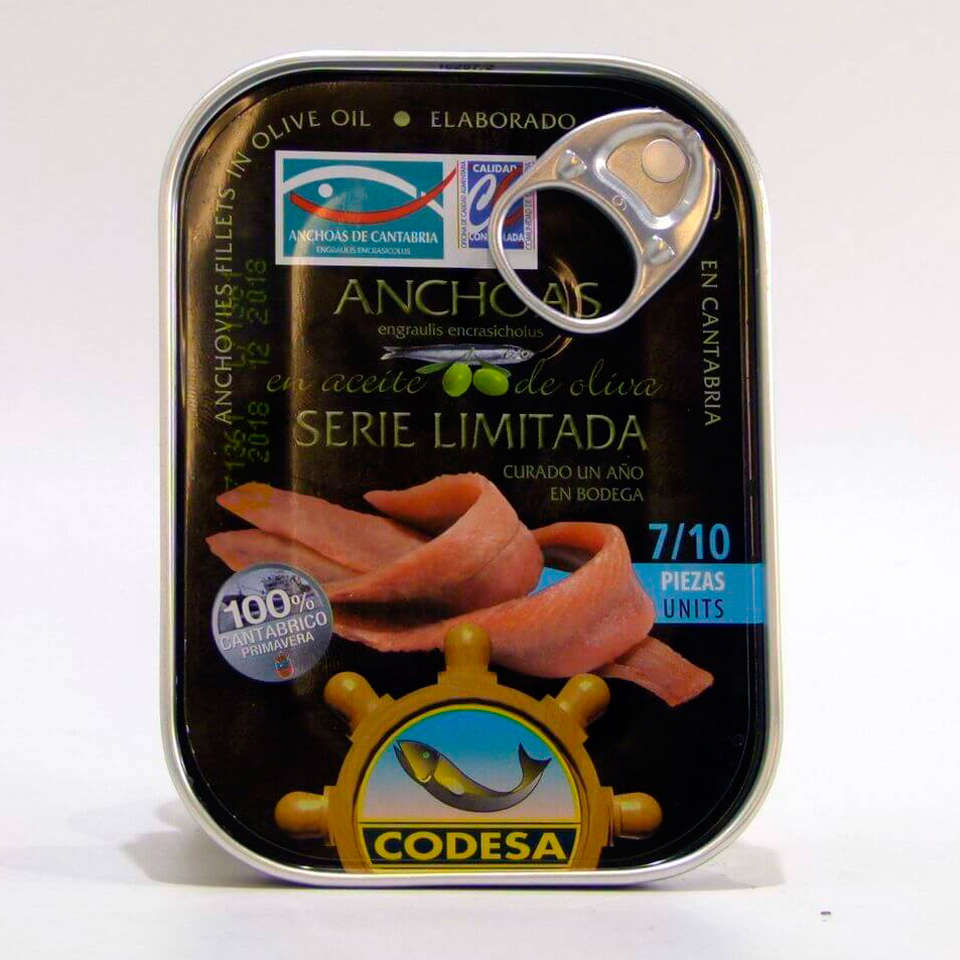 Octavillo de anchoas Codesa Serie Limitada