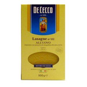 Lasagne al´uovo De Cecco n 112
