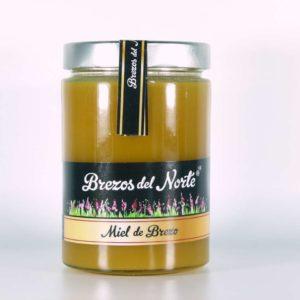 Miel de brezo pura artesanal Brezos del Norte 780 gramos
