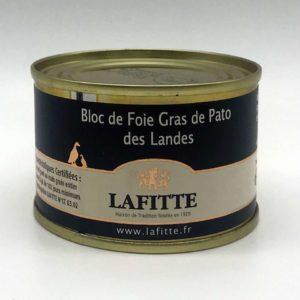 Bloc de Foie de Pato Lafitte 65 grs