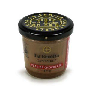 Flan de chocolate La Ermita 110 grs