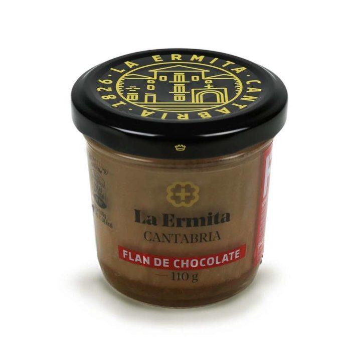 Flan de chocolate La Ermita