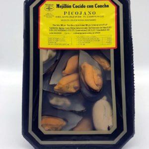 Bandeja de mejillones cocidos 950 grs