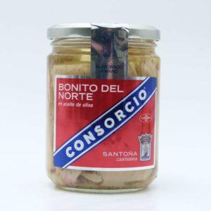 Bonito del Norte Conservas Consorcio en aceite de Oliva 400 gramos