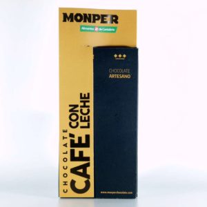 Chocolate Monper cafe con leche