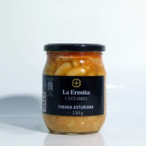 Fabada Asturiana delicatessen la Ermita tarro de 550 gramos