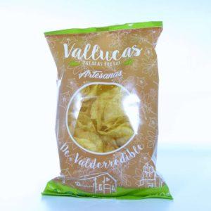 Patatas fritas Vallucas de Valderredible bolsa 140 gramos