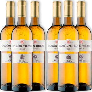 Caja 6 botellas Ramón Bilbao Blanco Verdejo